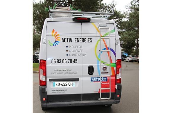 Activ' Energies, plombier à Aubigny en Vendée