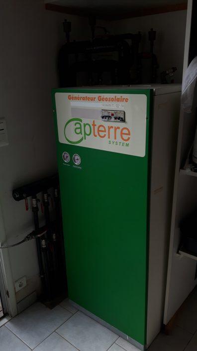 Remplacement d'une pompe à chaleur géothermique
