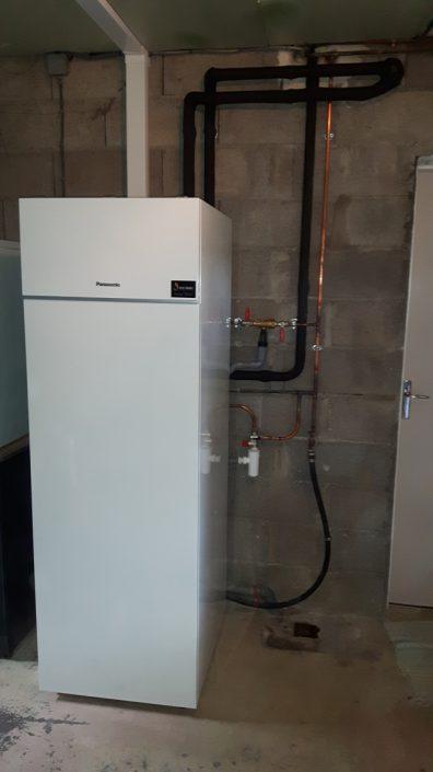 Paramétrage et mise en service de la pompe à chaleur